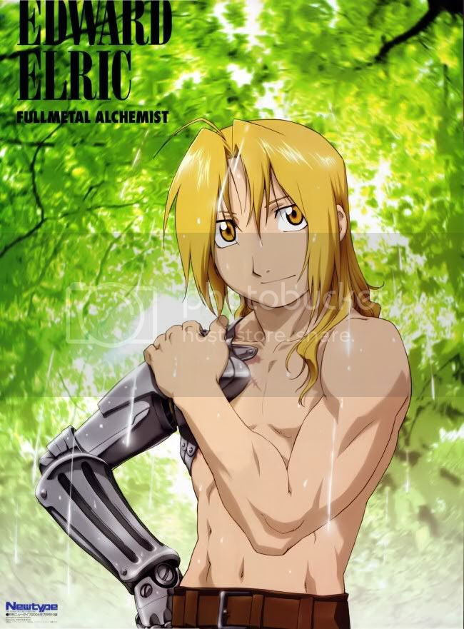 Edward Elric sexy Pictures, Images and Photos
